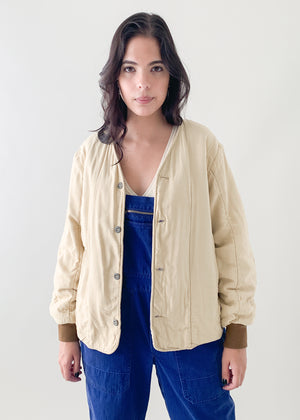 Vintage Czech Quilted Liner Jacket