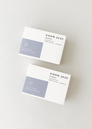 Good JuJu Rose Clay and Geranium Soap