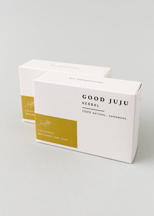 Good JuJu Eucalyptus and Bergamot Soap