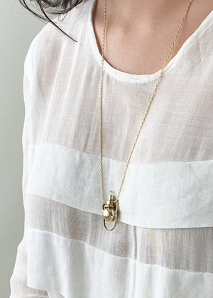 Petite Crystal Artifact Necklace