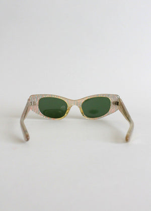 Vintage 1950s cat eye sunglasses
