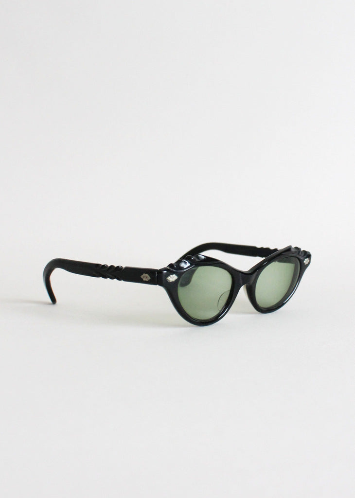 Vintage 50s cay eye sunglasses