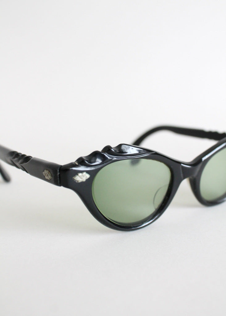 Vintage 1950s cay eye sunglasses