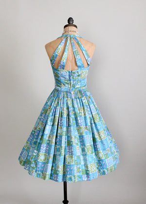 Vintage 50s pin up dress
