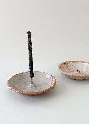 Stoneware Woodfired Incense Holder