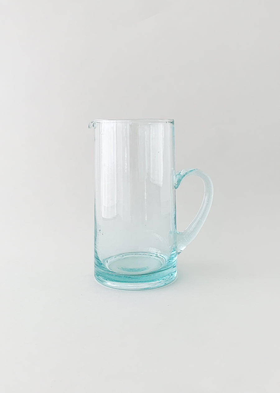 Moroccan Handblown Pitcher