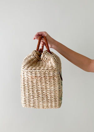 Ralph Lauren 2012 Runway Wicker Doctor Bag