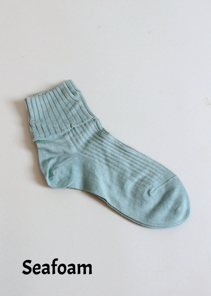 Vintage 1930s Cotton Anklet Sock (Priced Per Pair)