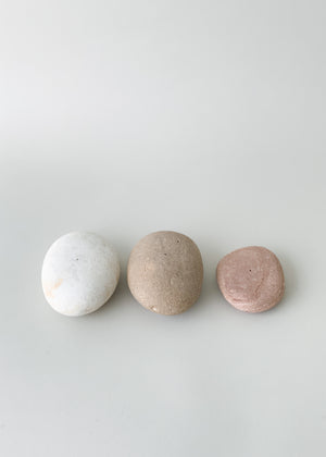 River Stone Incense Holder