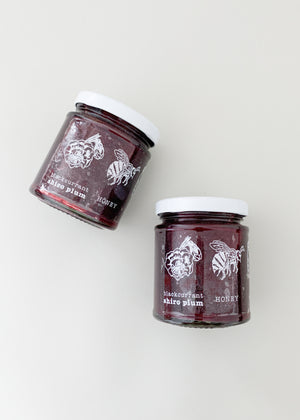 Blackcurrant Shiro Plum Honey Jam