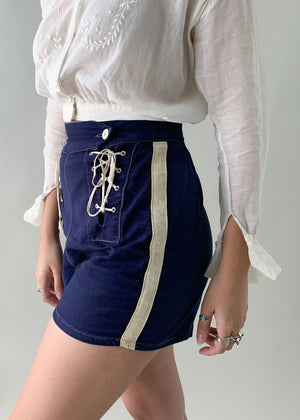 Vintage 1930s Sailor Shorts