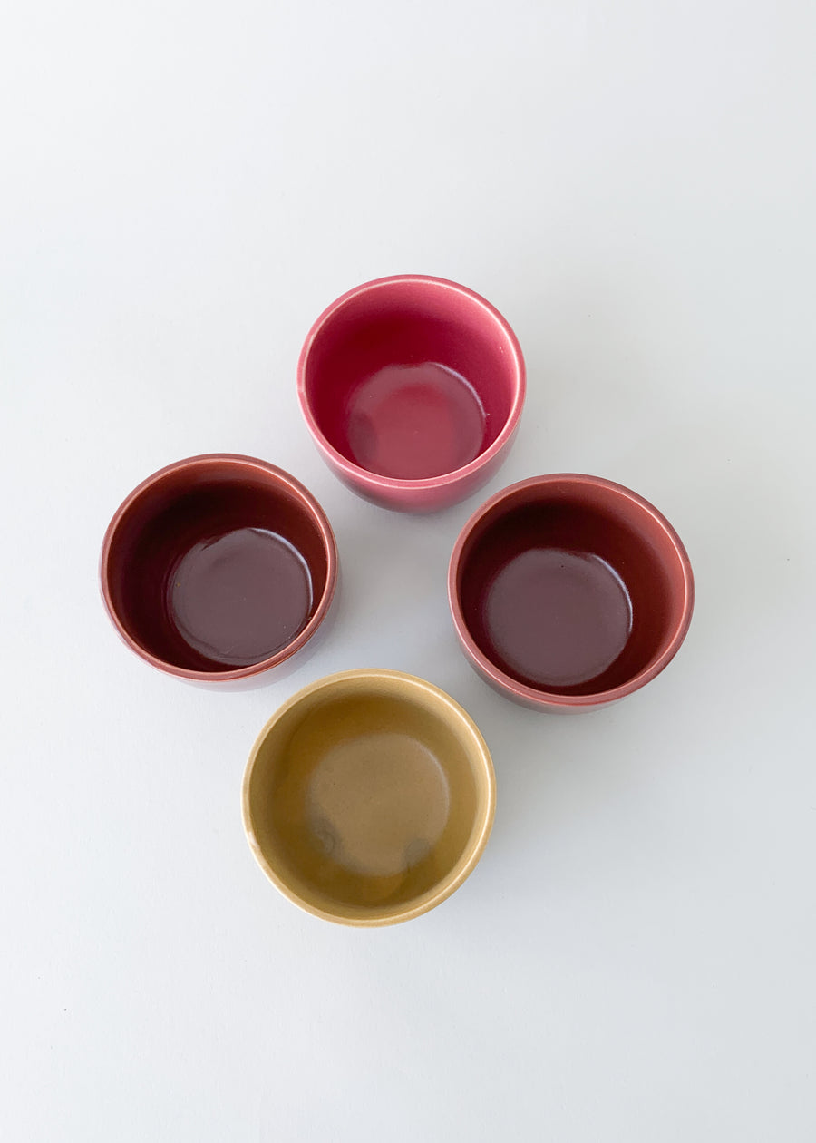 Copy of Vintage MidCentury Cup Set - Browns