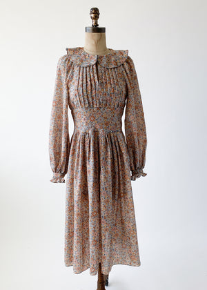 Vintage 1970s Albert Nippon Wool Dress