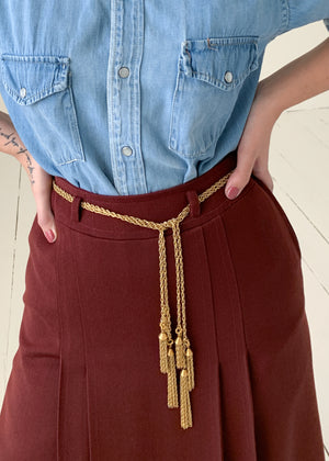 Vintage Valentino Wrap Tassel Belt or Necklace