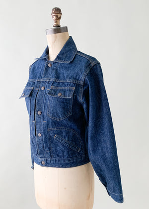 Vintage 1960s Denim Jacket
