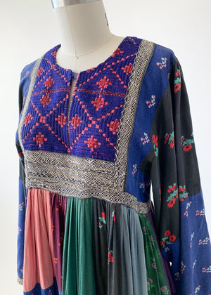Vintage Afghani Patchwork Dress