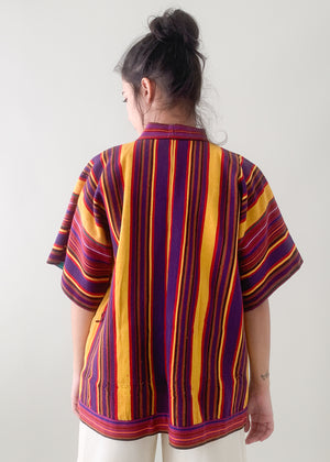 Vintage Mexican Huipil Jacket