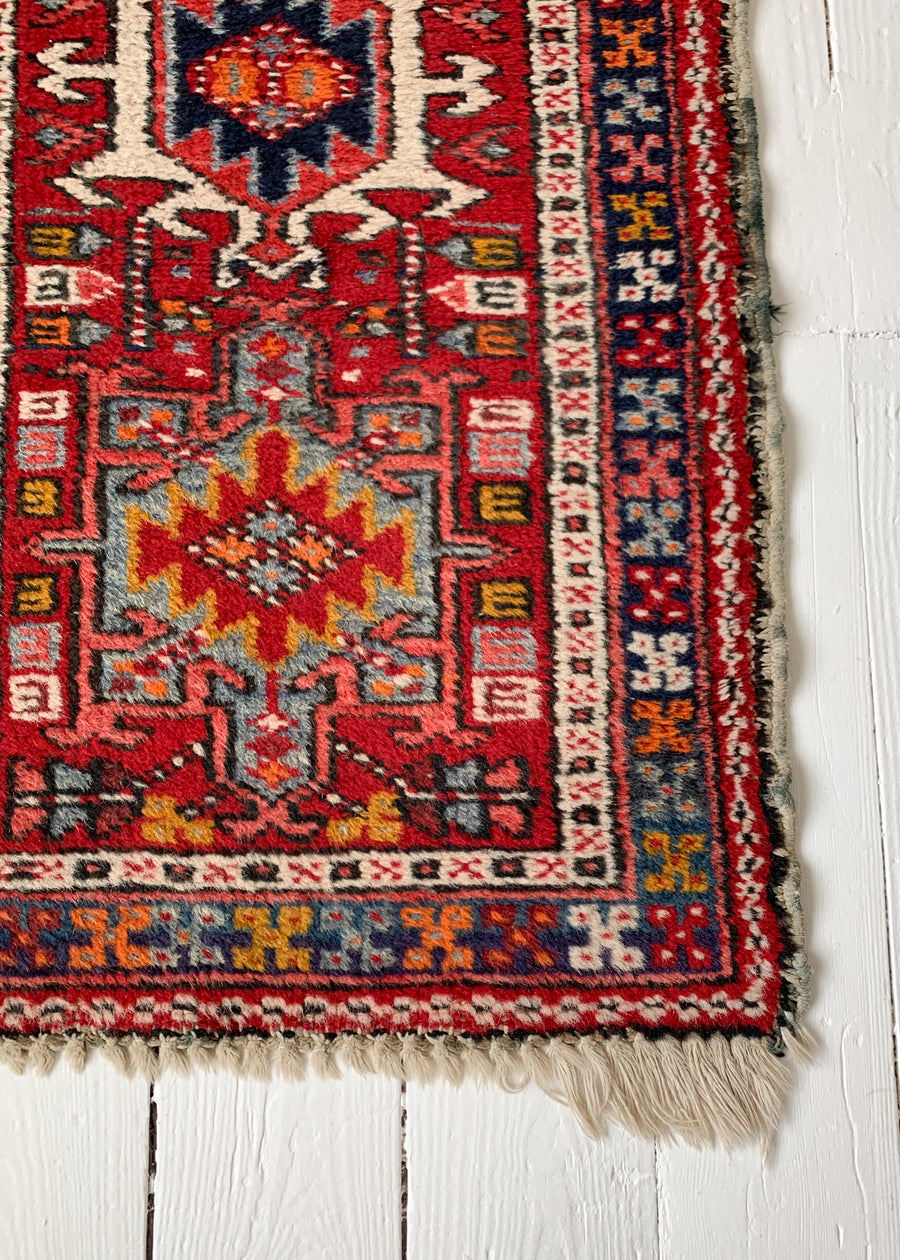 Vintage Persian Small Runner