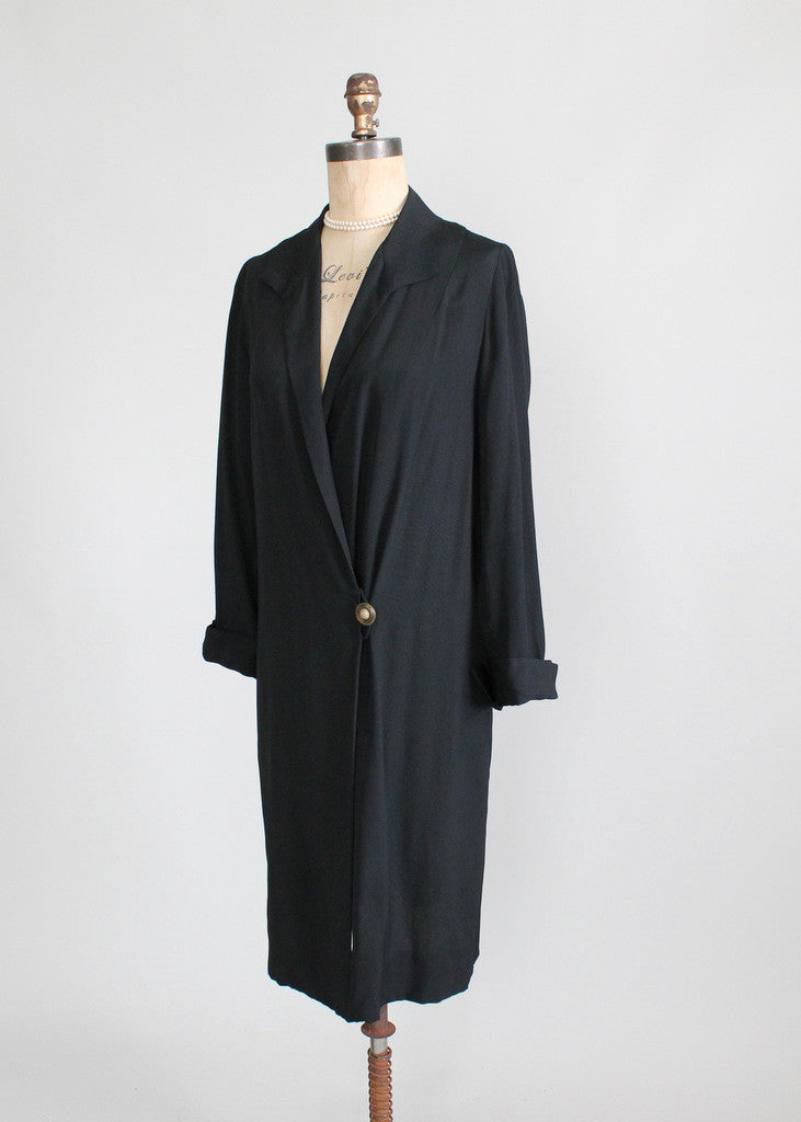 Vintage 1920s Gatsby Style Flapper Coat