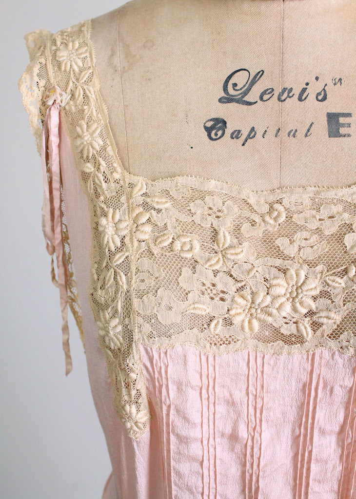 Vintage 1920s Silk and Lace lingerie