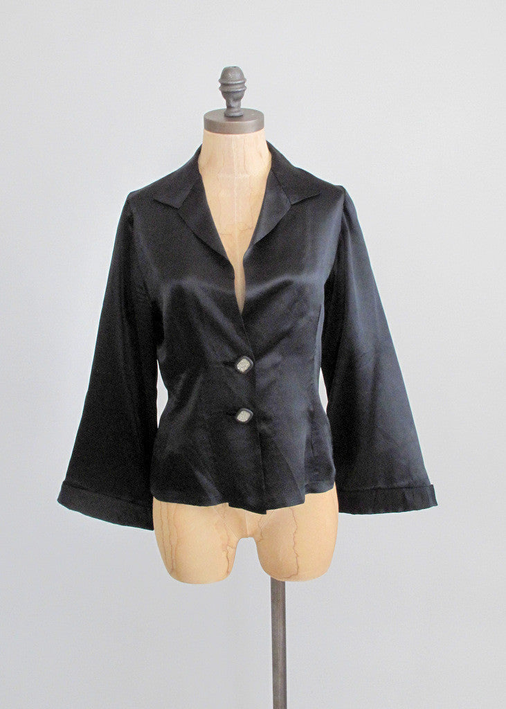 Vintage 1930s Satin Jacket & Party Dress