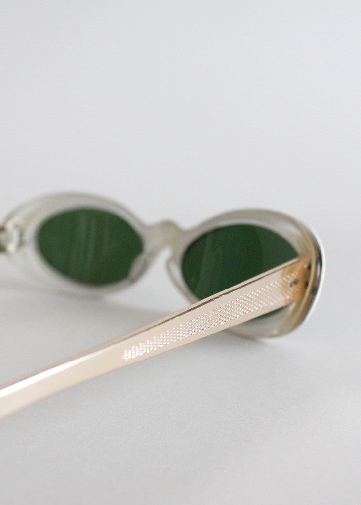 Vintage 1950s French Mother of Pearl Sunglasses