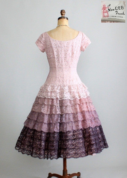 Vintage 1950s New Deb Frock Dress