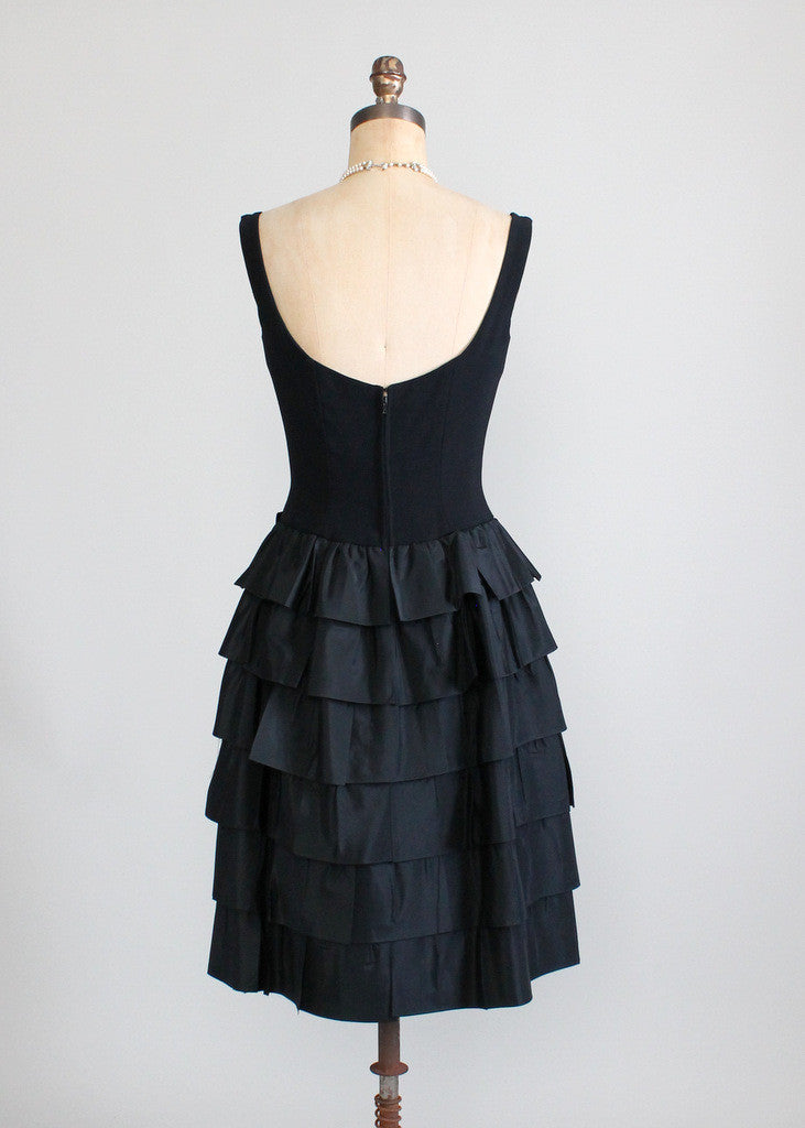 Vintage 1960s LBD Cocktail Dress