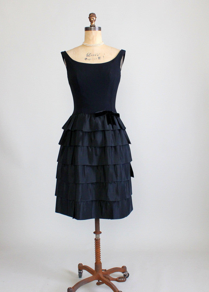 Vintage 1960s Jonny Herbert Cocktail Party Dress