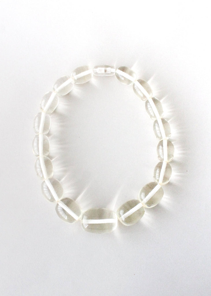 Vintage 1970s Chunky Lucite Necklace