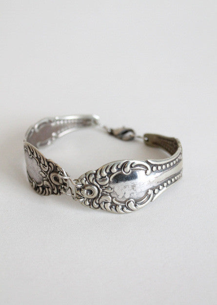 Vintage Spoon Bracelet Bangle