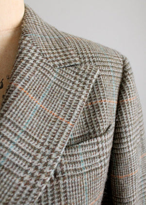 Vintage Brooks Brothers Italian Tweed Blazer