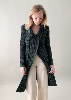 Vintage 1980s Missoni Knit Duster
