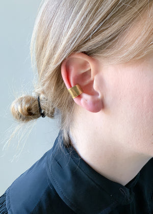 Brass Ear Cuff