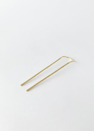 Forged Brass Hair Fork