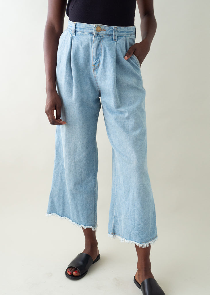 Vintage 1980s Cropped Jeans