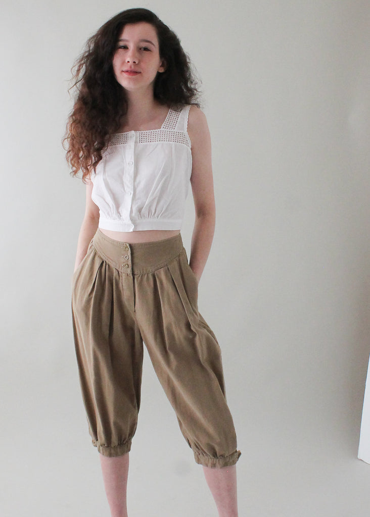 Vintage 1970s Adini Indian Cotton Breeches