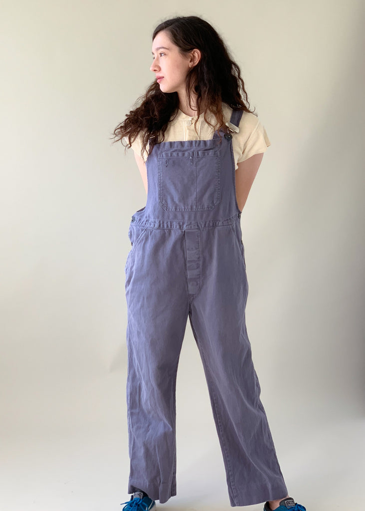 Vintage French Workwear Overalls