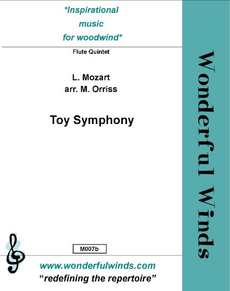 M007b Toy Symphony - Mozart, L  (PDF DOWNLOAD)