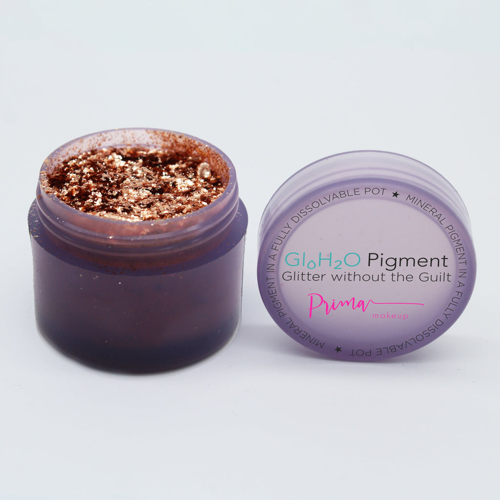 GloH2O Luxe Sparkling Rose Gold Pigment