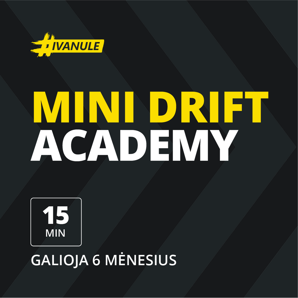 "Coupon ""Mini Drift Academy"" - Duck Story"