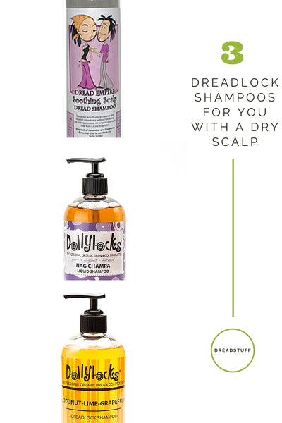 dreadlock shampoo dry scalp