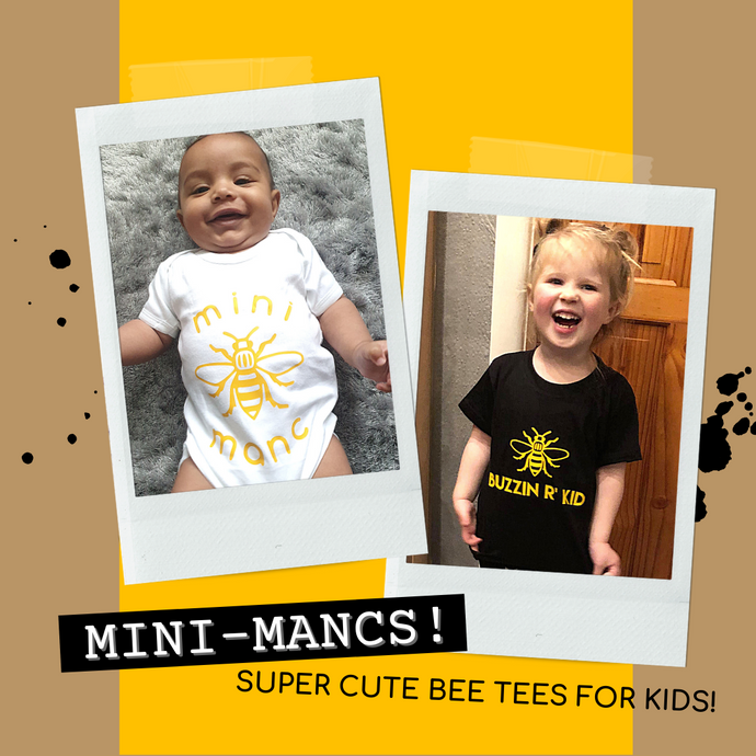 Here comes trouble... Mini-Mancs! 🐝