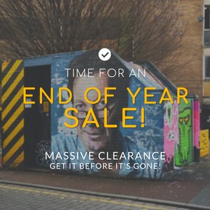 We're havin' a clear out... Fancy 50% off? - The Manchester Shop