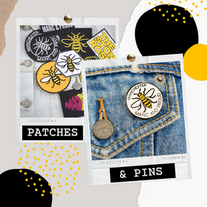 Get Creative with Patches & Pins 🐝