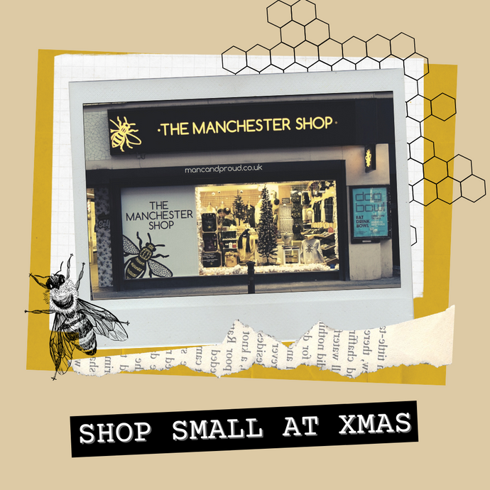 Remember to Shop Small this Christmas! 🐝