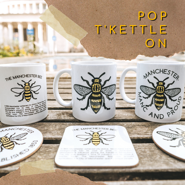 Mugs & Coasters - The Manchester Shop