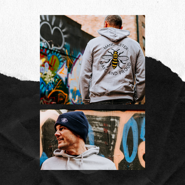 Manchester Bee Hoody - The Manchester Shop