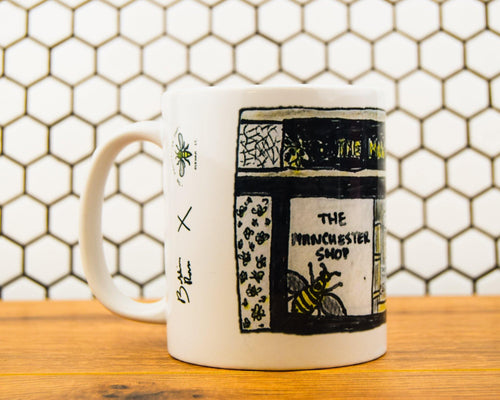 Bobbins Ross - The Manchester Shop Mug - The Manchester Shop
