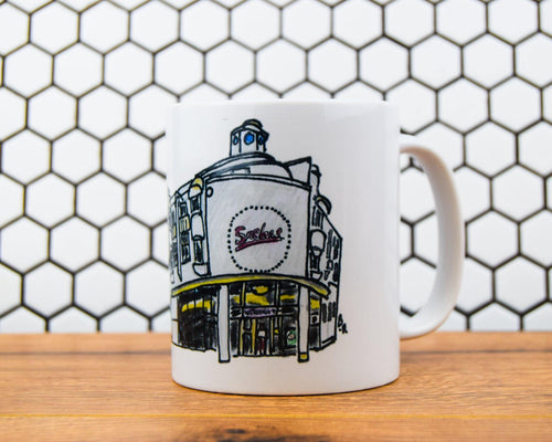 Bobbins Ross - Sacha's Hotel Mug - The Manchester Shop